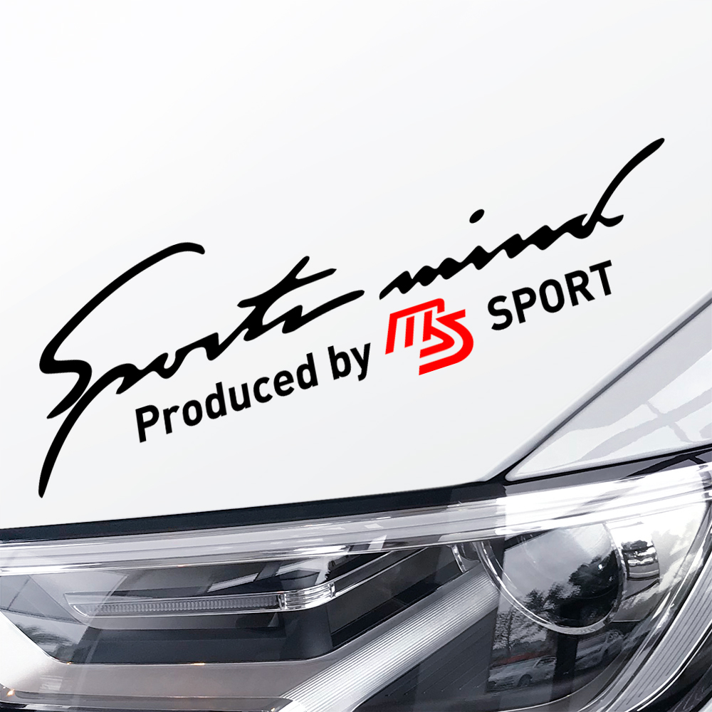 Car Headlight Stickers MS Sport For <font><b>Mazda</b></font> Demio <font><b>CX</b></font>-5 CX5 3 5 6 2 <font><b>CX</b></font> 3 <font><b>CX</b></font> 7 Axela Atenza Lamp Eyebrow Car <font><b>Accessories</b></font> Body Decals image