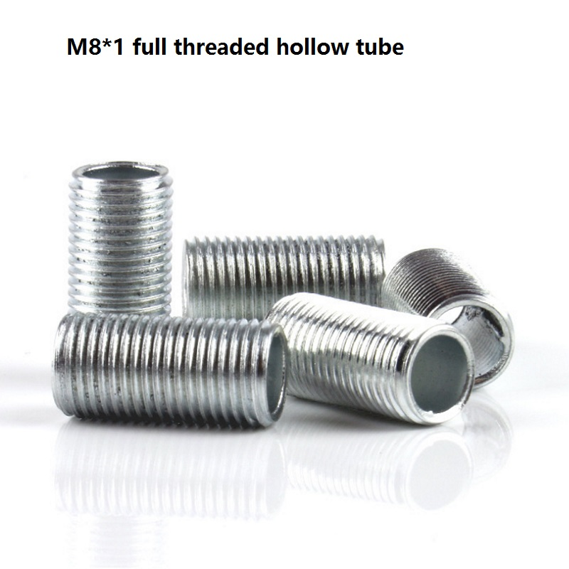 Mm m whole threaded hollow tube rod