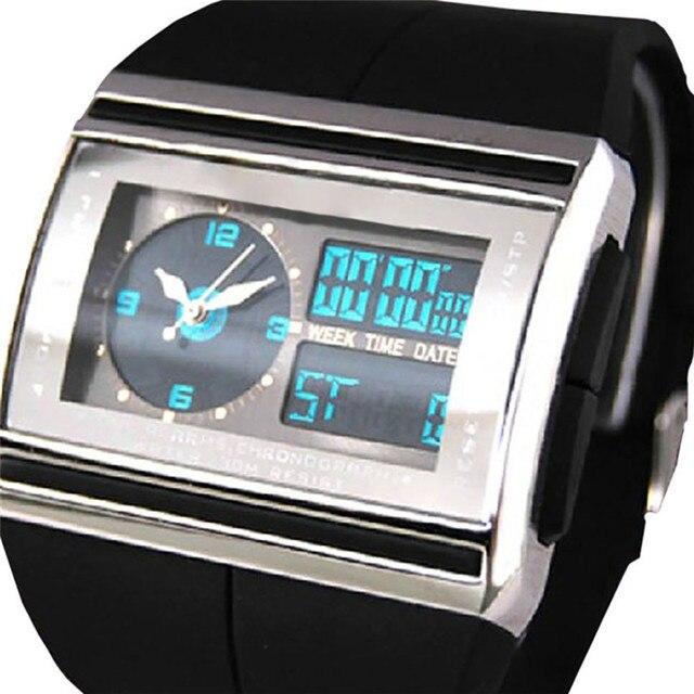 Irisshine men watches Digital LED Date Rubber Sport Waterproof Mens Boy Wrist Watch wholeasale A20