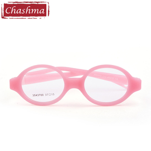 Image 4 - Small Baby Medical Silicone Prescription Spectacles Kids Eye Glasses Frames Girls Flexible Light Gafas Rubber Child