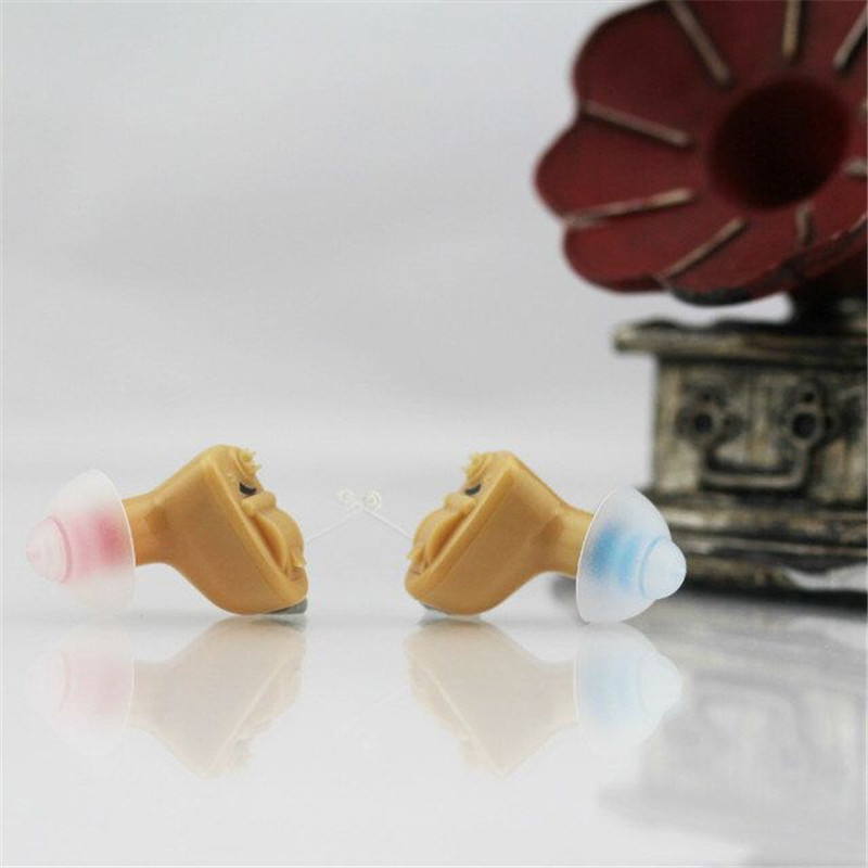 2017 Newest Cheapest CIC invisible Ear Hearing Aid Deaf Aid Sound Amplifier for Mild to moderate Hear loss S-9A  free Shipping analog bte hearing aid deaf sound amplifier s 288 deaf aid with digital processing chip free shipping