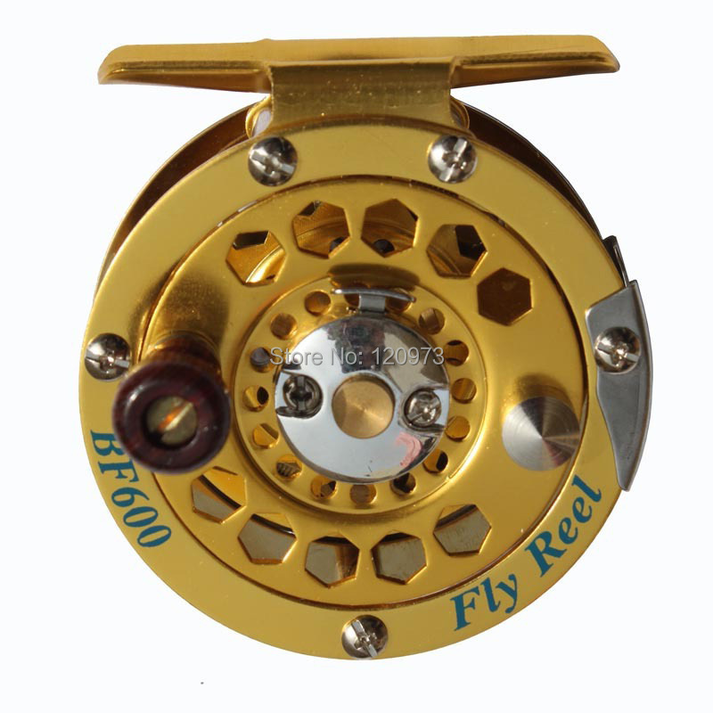 Aluminum Fly Reel BF800--5/6# / Full Metal Ice Wheel / Raft Reel / Former Fly Fishing Wheel Wholesale
