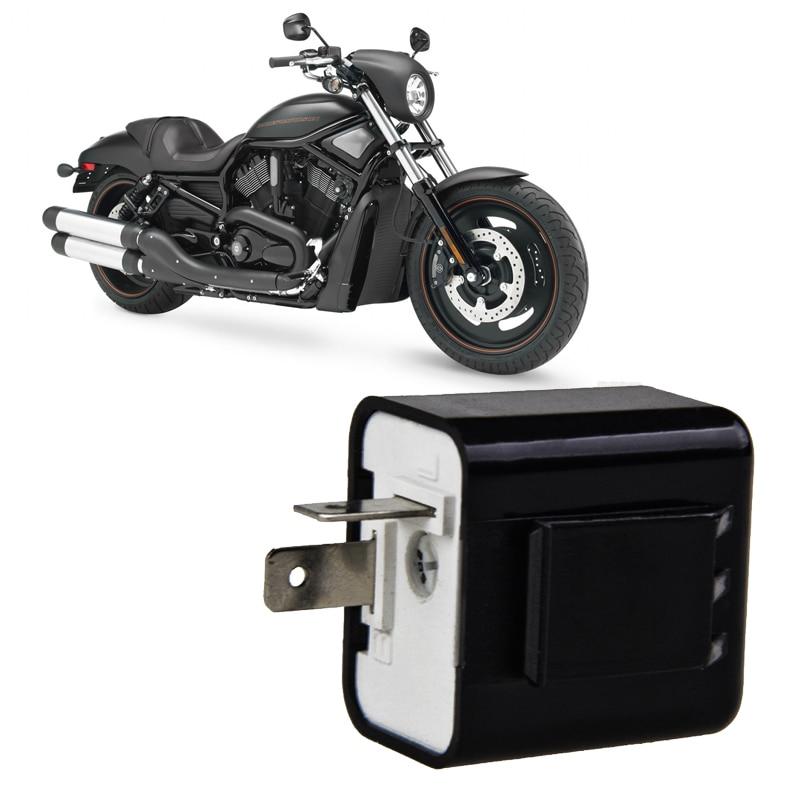 Keenso 2 Pin Motorbike Turn Signal Indicator Blinker Relay Blue 6-12V Motorcycle Beeper Flasher Relay