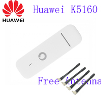 Huawei Ks160 Unlocked USB Stick for Vodafone LTE Category 4 networks K5160 same modem E3372 plus 2pcs antenna