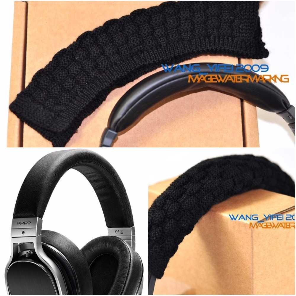 Extra Fine Pure Wool Headband Cushion For Oppo PM-1 PM-2 PM-3 HIFi Over Ear Headphone Pad Cover Head Band
