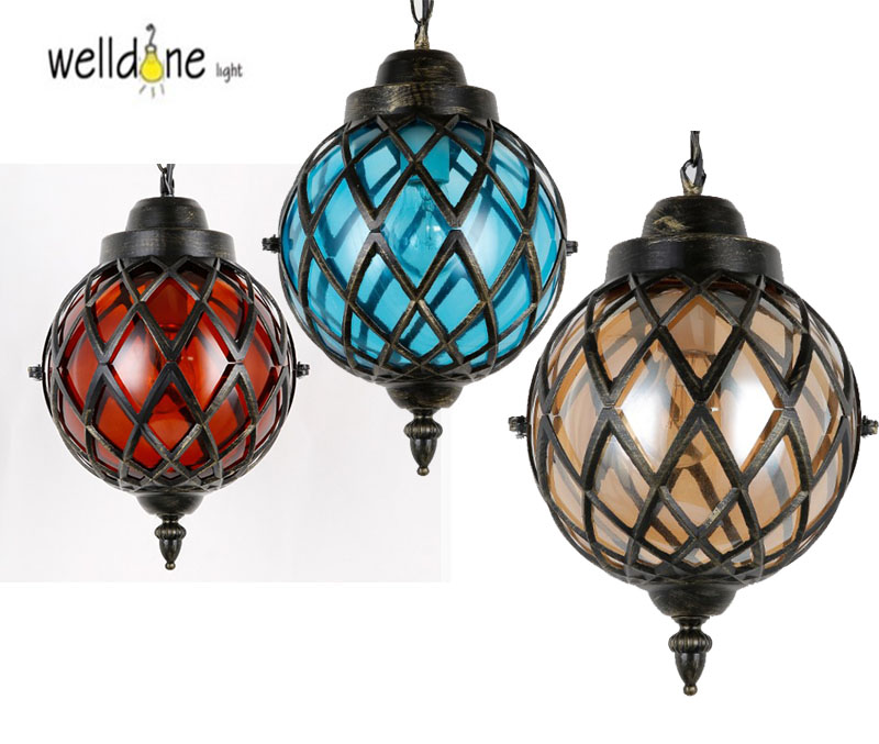 Colorful Glass Creative LED Pendant Lights Simple Hanglamp Fixtures For Cafe Bar Dinning Home Lightings novelty volcanic stone led pendant lamp reisn hemp rope creative droplight hanglamp fixtures for home lightings cafe living room