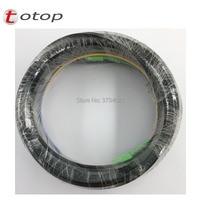 Free Shipping 50M Outdoor Fiber Optic Drop Cable Patch Cord SC/APC to SC/APC Duplex SM G657A2 LSZH 4core Drop Cable Patch Cord