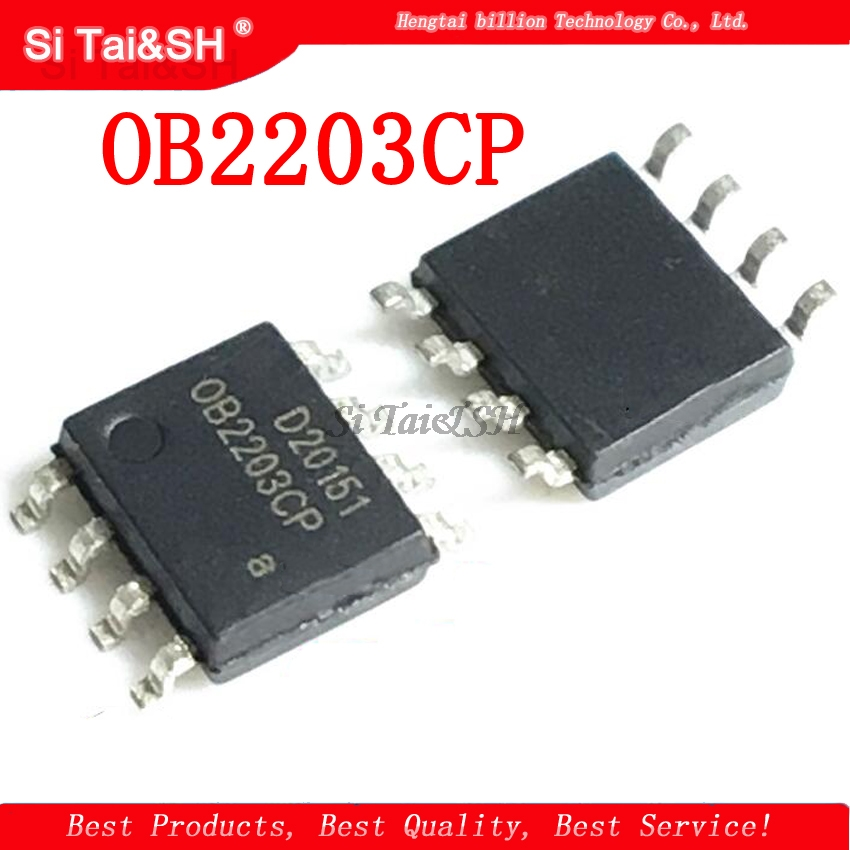10pcs/lot <font><b>OB2203CP</b></font> ( IC ) OB2203C / OB2203 , SOP-8 Package , New and Original (OB2203CPA) image