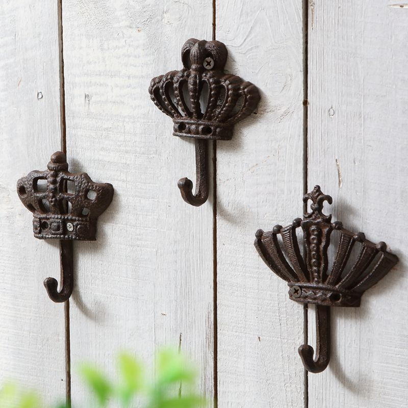 Fashion iron hook decorative vintage wall door after the ...