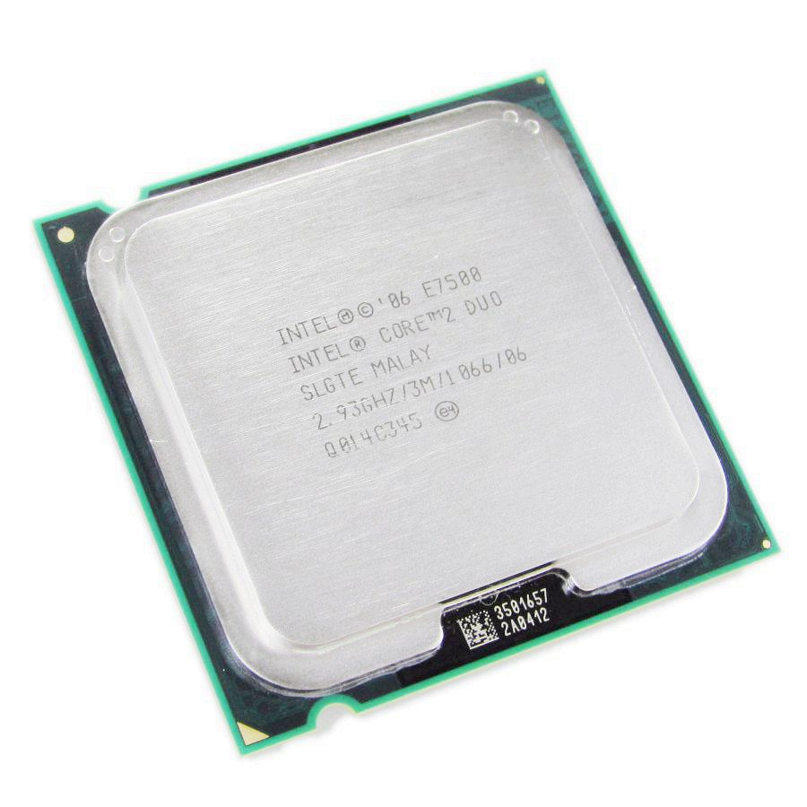 intel core 2 duo e7500 3mb 1066mhz socket lga 775 cpu processore tested in processors. Black Bedroom Furniture Sets. Home Design Ideas