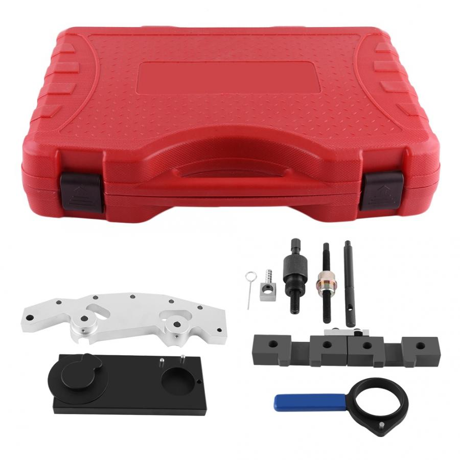 Oversea 9pcs Car Engine Timing Tool Kit Camshaft Locking Setting for  M52 M52TU M54 M56