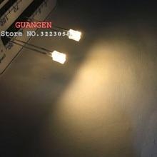 цена на 1000PCS square 2*3*4 mm LED warm white Rectangle flat white for warm-white super bright white light-emitting diode 234 led