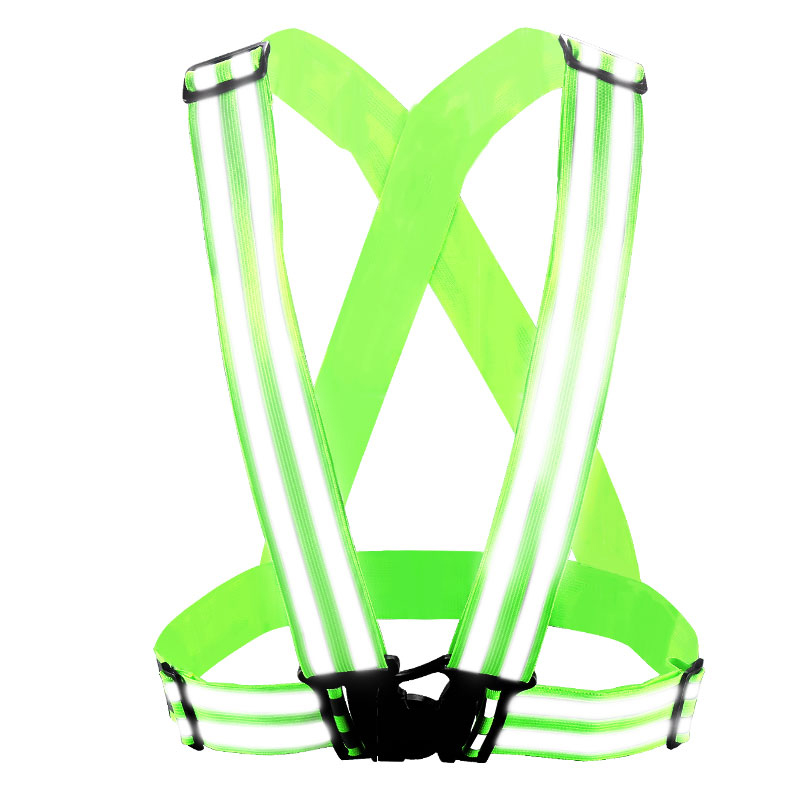 SPARDWEAR Reflective adjustable Vest belt Security Double Reflective Strips waistcoat belt for outdoor night jogging free post high quality safe reflective vest belt for women girls night running jogging biking