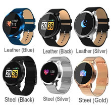 Q8 Smart Watch OLED Color Screen Smart Electronics Smartwatch Thin light Fashion Fitness Tracker Heart Rate Bluetooth Men Women kw18 bluetooth smart watch women men sport fitness tracker watches fashion heart rate smartwatch sim ips screen smartwatches men