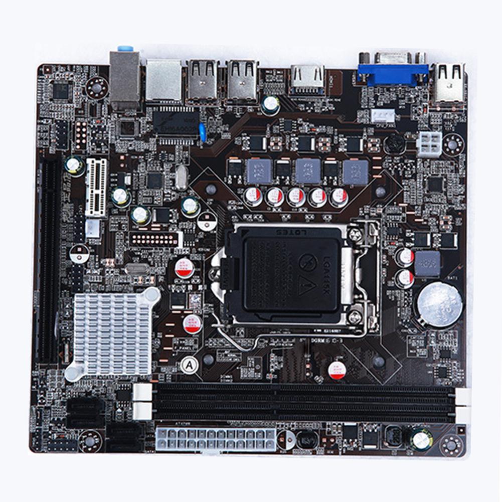 Scheda Madre Desktop H61 Socket LGA 1155 DDR3 Micro ATX della Scheda Madre Del Computer Scheda Madre per Intel H61Scheda Madre Desktop H61 Socket LGA 1155 DDR3 Micro ATX della Scheda Madre Del Computer Scheda Madre per Intel H61