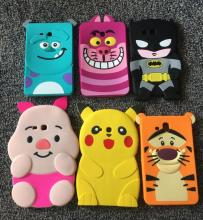 Cartoon Cute Batman 3D Hero Silicon Soft Back Cover Case For Samsung Galaxy Tab 3 Lite 7.0 T110 T111 coque tablet case+free film