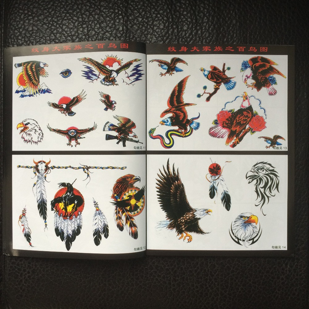 Eagles-Tattoo-Flash-Design-Book-42-Pages-Cursive-Writing-Art-Supply-Tattoo-supplies (2)