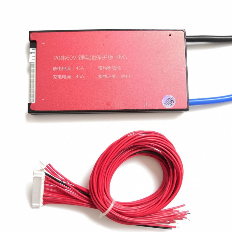 20S 72V 25A 35A 45A 60A BMS Battery Management System PCM PCB for 18650 Lithium Ion Battery Pack With Balance
