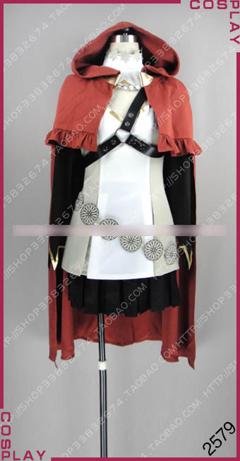 [Customize] Anime Fire Emblem if Anna Hoodie Dress Lolita Uniform Full set cosplay costume New 2017 free shipping