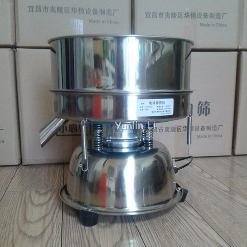 Electrical Vibrating Machine for Powder Particles Electric Sieve Machine Stainless Steel Sieve for Chinese Medicine YCHH0301