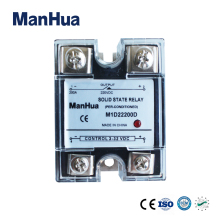 MANHUA Single Phase DC To DC 3-32VDC To 220VDC 200A Black Solid State Relay/SSR Relay With CE