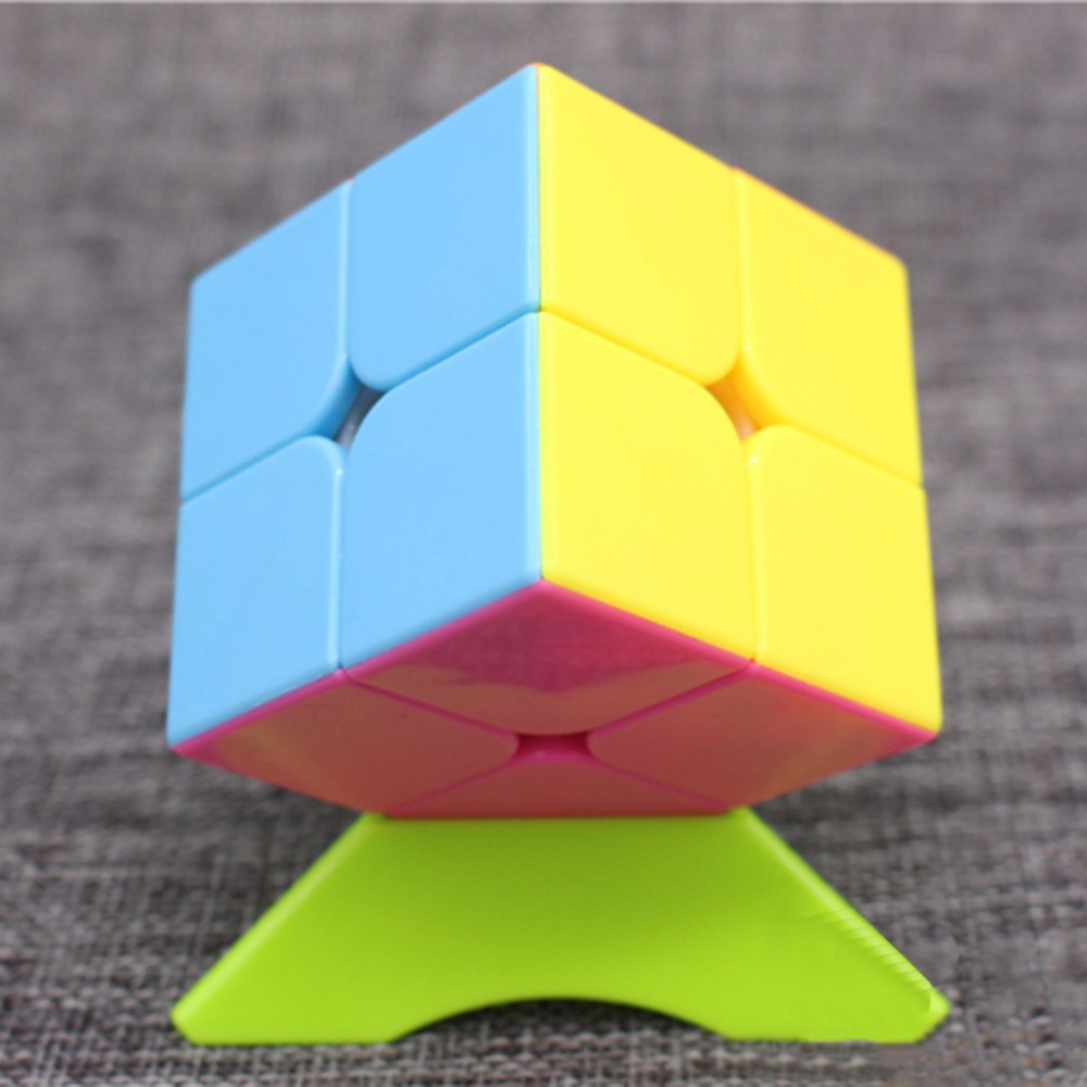 HOT Magic Square 2 Layers Magic Speed Square Educational Cubo Magic Toys Gift For Children Adults Kids Toy Puzzle Square