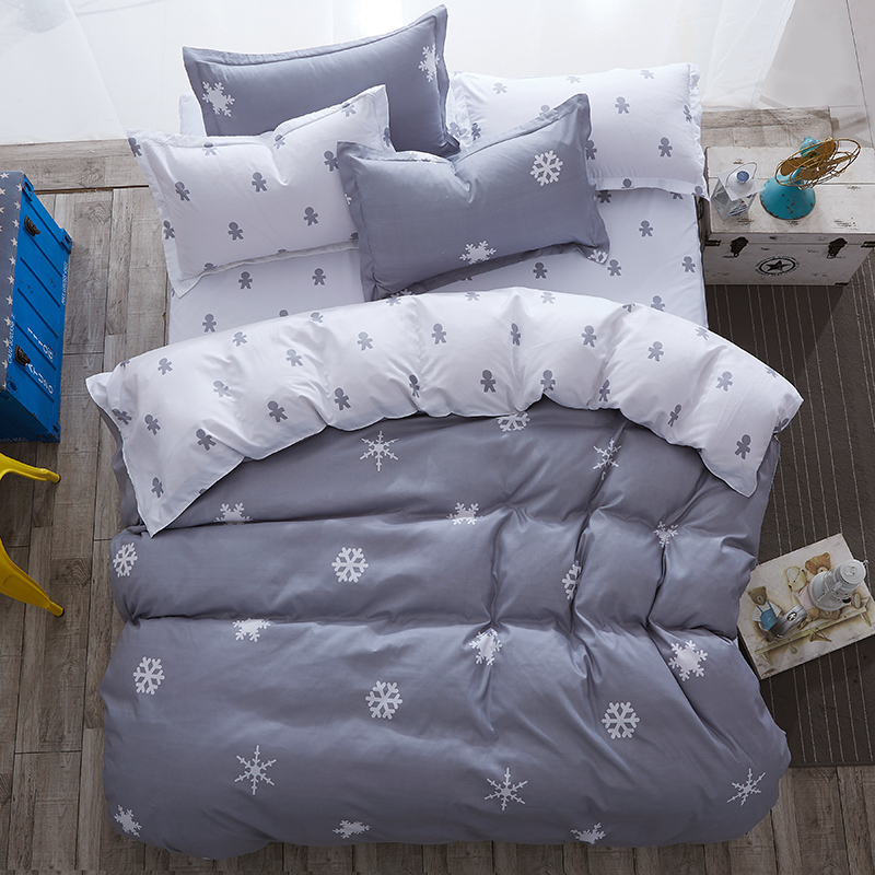 Modern Style Bedding Sets Polyester Duvet Cover Set Sheet