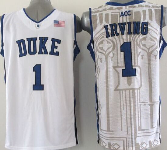 a8732f1b2ede ... where to buy 3 grayson allen jersey duke blue devils 1 kyrie irving  college basketball jersey
