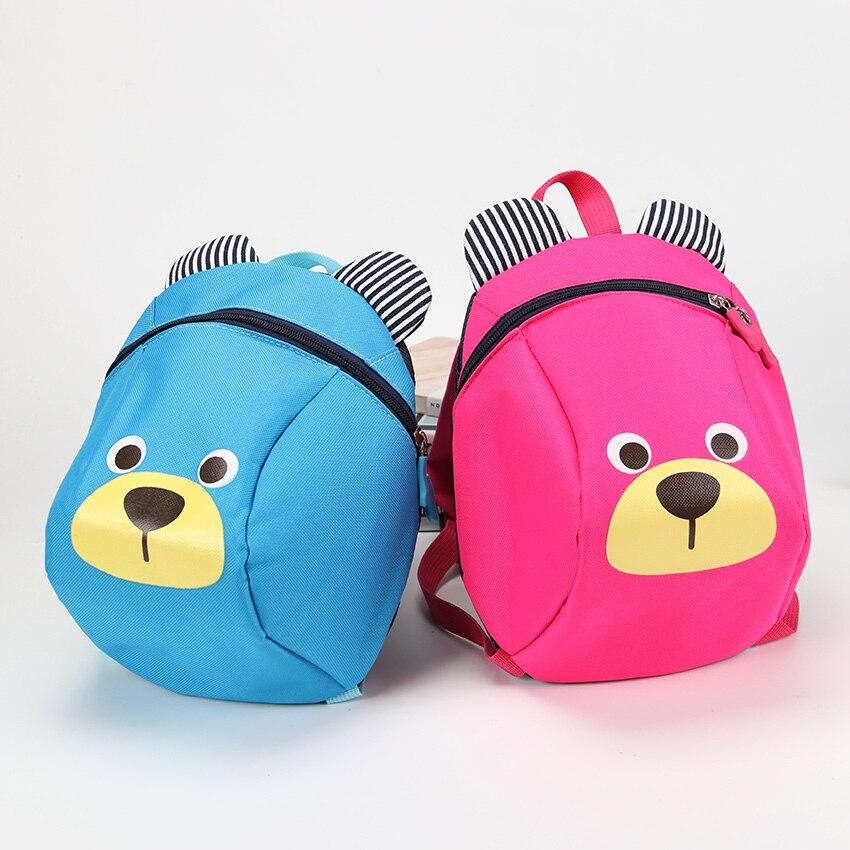 Aged 3-5 Toddler Backpack Anti Lost Kids Baby Bag Cartoon Animal Children Backpacks Kindergarten School Mochila Escolar
