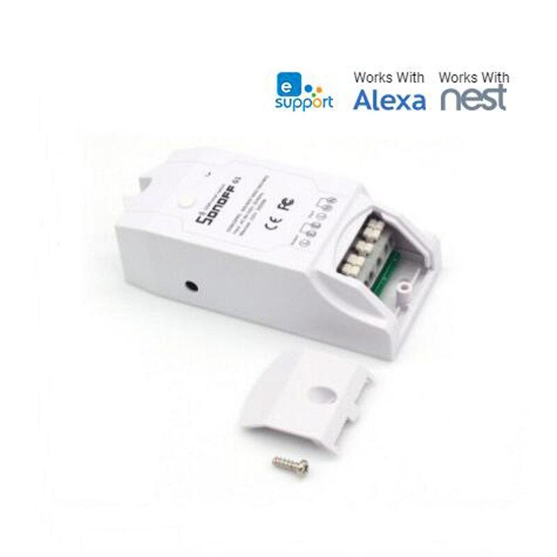 Sonoff G1 Smart GSM переключатель Беспроводной Дистанционное управление Умный дом автоматизации модуль Мощность Настенные переключатели через GPRS ...