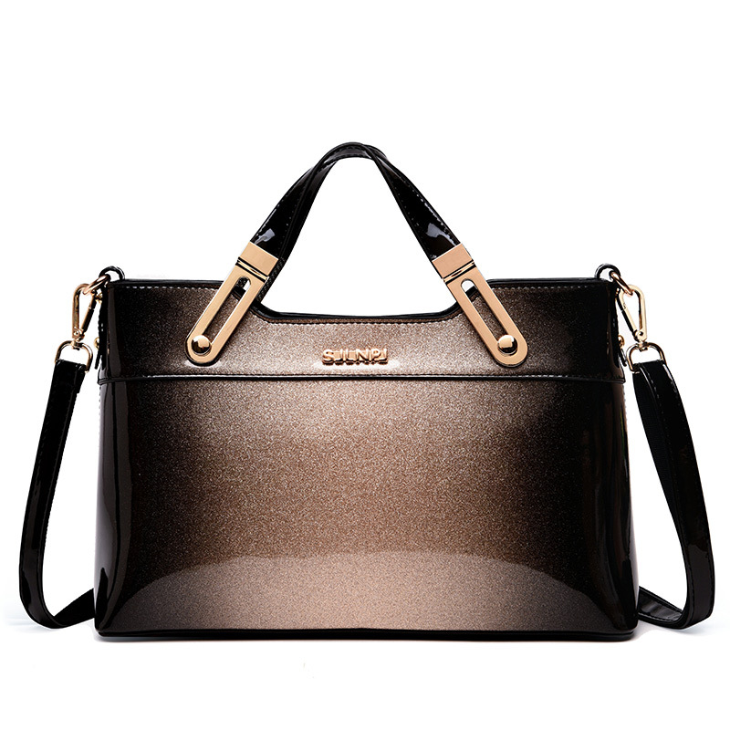 2019 New European Fashion Simple High Grade Patent Leather Bags Handbags Women  Famous Brands Office Women Leather Handbags Sac2019 New European Fashion Simple High Grade Patent Leather Bags Handbags Women  Famous Brands Office Women Leather Handbags Sac