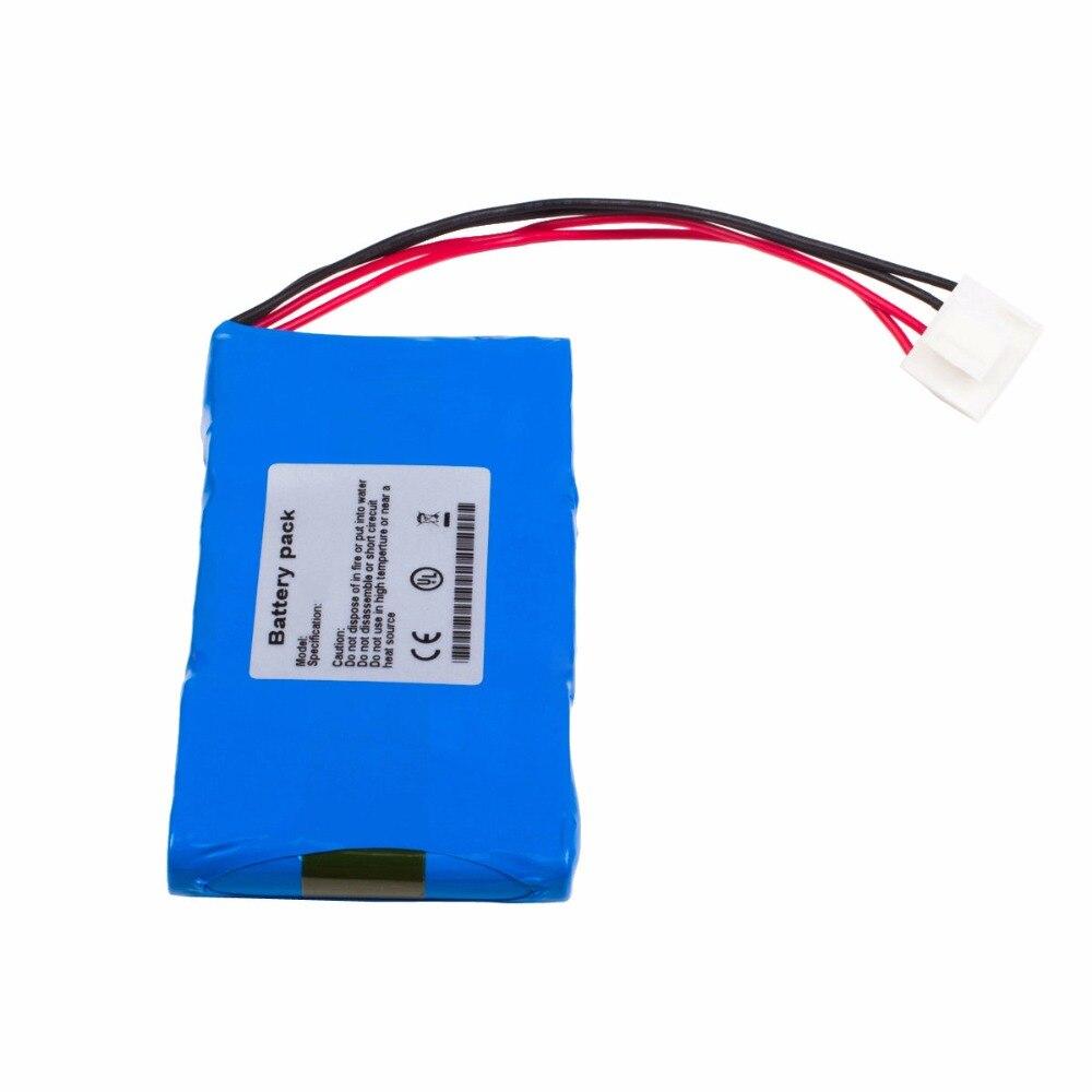 1600mAH New monitor ECG Battery for KADEY YASEN ECG-901 WP-YHD-3160