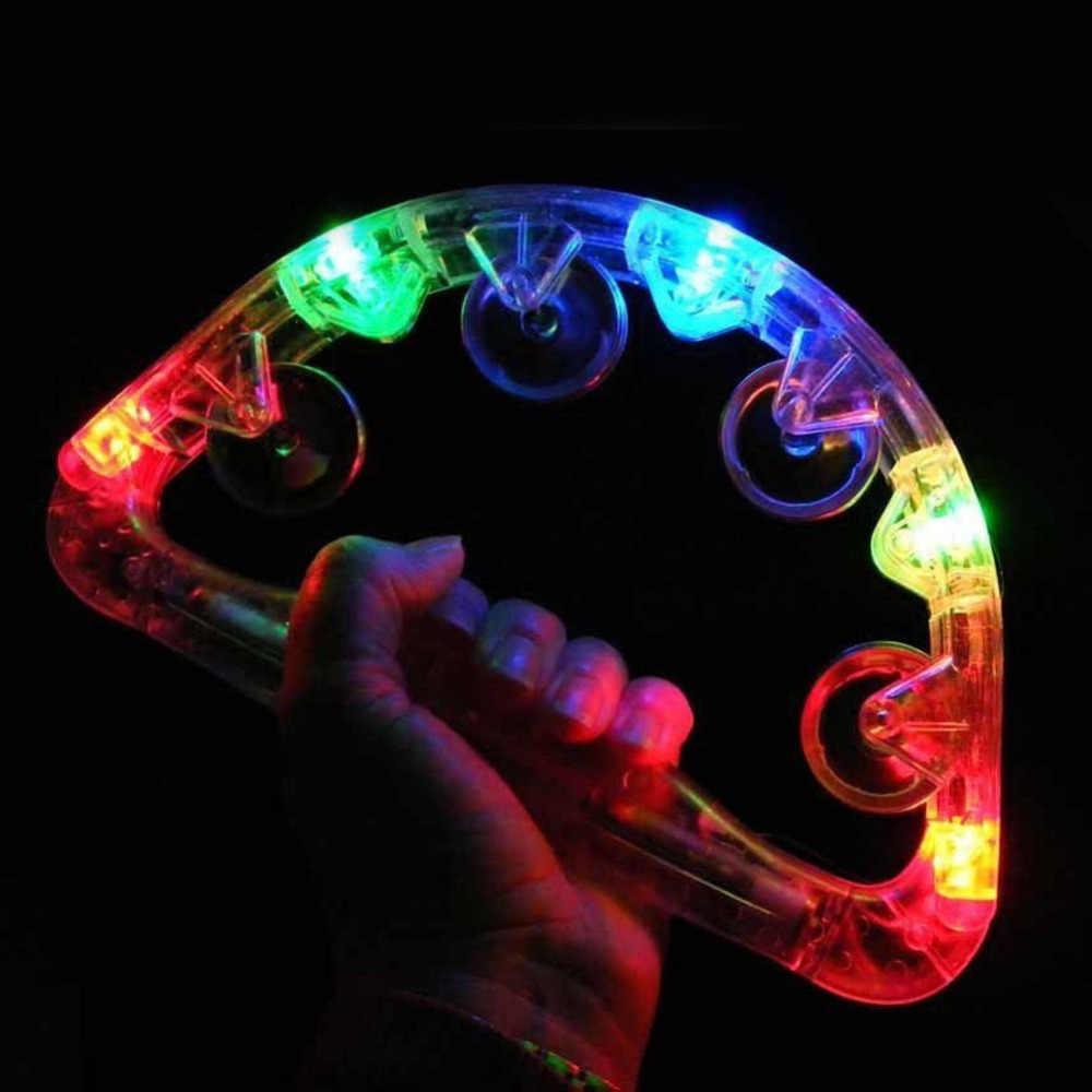 I Bambini Del Partito Del Giocattolo di Incandescenza Pattume Giocattolo Musicale per Bambini Led Lampeggiante Luce Scuotendo Luminoso Partito Prop di Crepitio Del Bambino Giocattoli