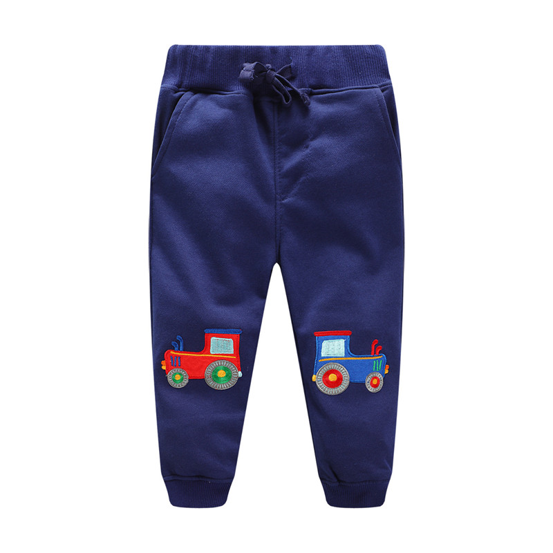 Jumping New Baby Boys Pants Kids Harem pants Autumn thick animal dinosaur Cotton Pants Children Trousers for boys long pants autumn winter korean baby boys pants cotton boys casual long trousers kids stripe clothing harem pants elastic waist jogger pant