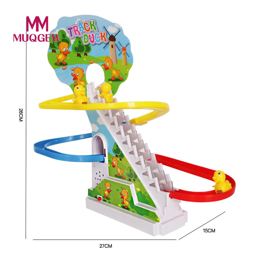 New Interesting Electric Rotary Slide Automatic Stairs With Music ...