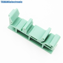 PCB Din C45 Rail Adapter Circuit Board Mounting Bracket Holder Carrier 35mm(China (Mainland))