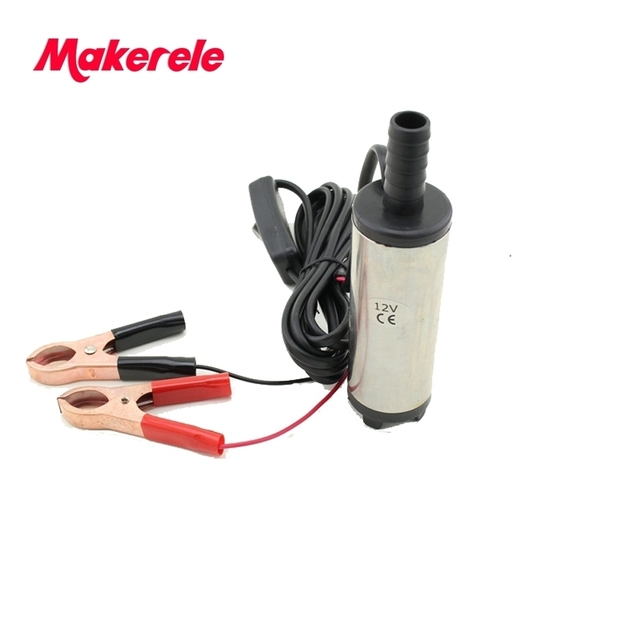 Free shipping Diameter 38MM DC 12/24V Submersible Diesel Fuel Water Oil Pump On/Off Switch Car Camping Portable