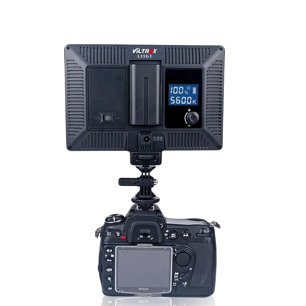 Viltrox L116T lcd-scherm bi-color & dimbaar slim dslr video ledlicht - Camera en foto - Foto 5
