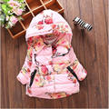 The wind rose China new explosion of cotton and cotton padded clothes surface waterproof girls