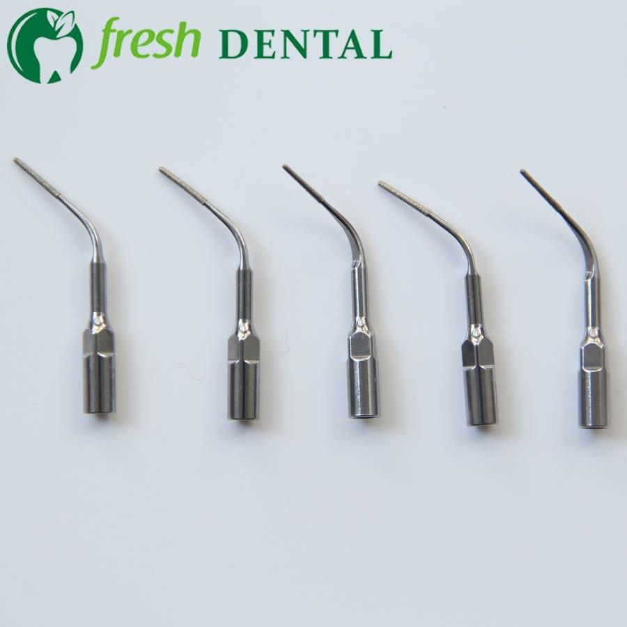 5 pièces pointes de détartreur dentaire P3D tout nouveau détartreur dentaire à ultrasons pointe de détartrage Perio P3D Fit EMS WOODPECKER blanchiment des dents
