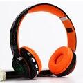 Buena calidad brillante 4 en 1 auriculares estéreo bluetooth headset auriculares auriculares inalámbricos con radio fm aux tf para la música/llamada