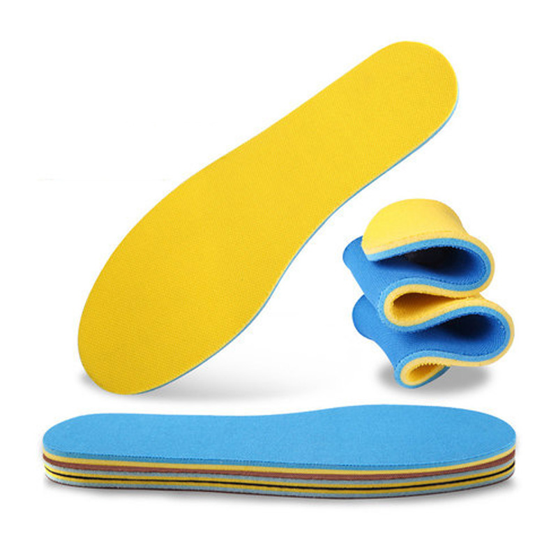 Unisex Free Size Insole Sport Breathable Insoles Soft Comfortable Outdoor Shoe Insole Non-Slip Shoes Pad For Man Women XD-010