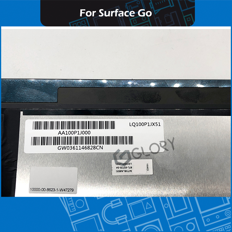 New LCD Assembly LQ100P1JX51 for Microsoft Surface Go LCD display Touch Screen digitizer Assembly Replacement-in Tablet LCDs & Panels from Computer & Office    3