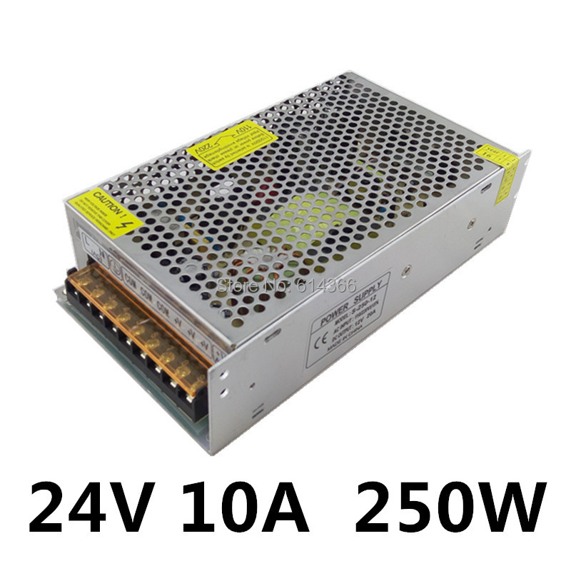led power supply 24v 10a 250w led driver power supply. Black Bedroom Furniture Sets. Home Design Ideas