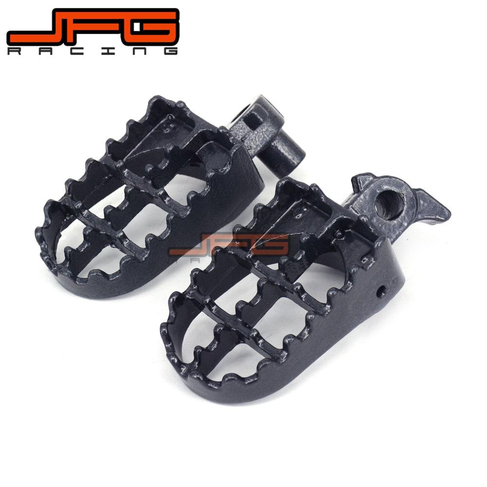 Foot pegs Footrest For CR125 CR 125 CR250 CR 250 CR500 CR 500 YZ125 YZ 125 YZ250 YZ 250 WR400 WR 400 Dirt Bike Motocross