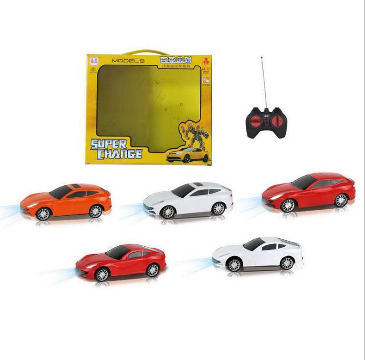 Carregamento de controle remoto elétrico atacado e varejo 1:24 quatro controle remoto sem fio modelo de carro de brinquedo para crianças de controle remoto