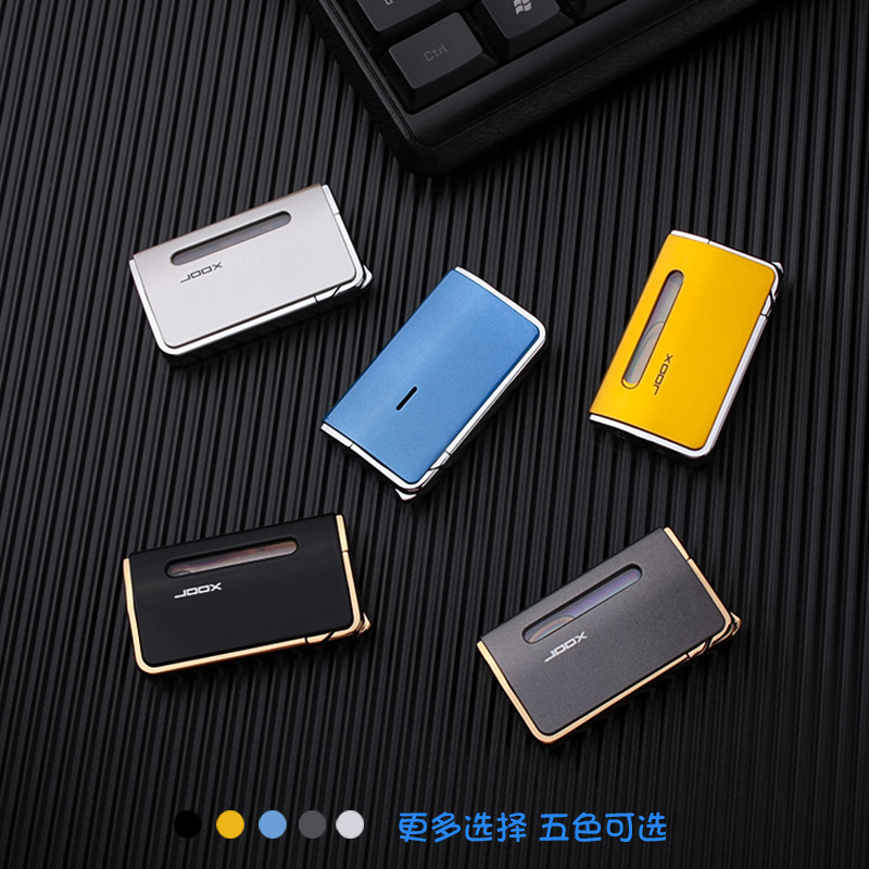 Image 3 - Ultra Thin Turbo Torch Lighter Bussiness Free Fire Jet Butane Cigar Lighter 1300 C Windproof Pipe Lighter Gas Window-in Matches from Home & Garden