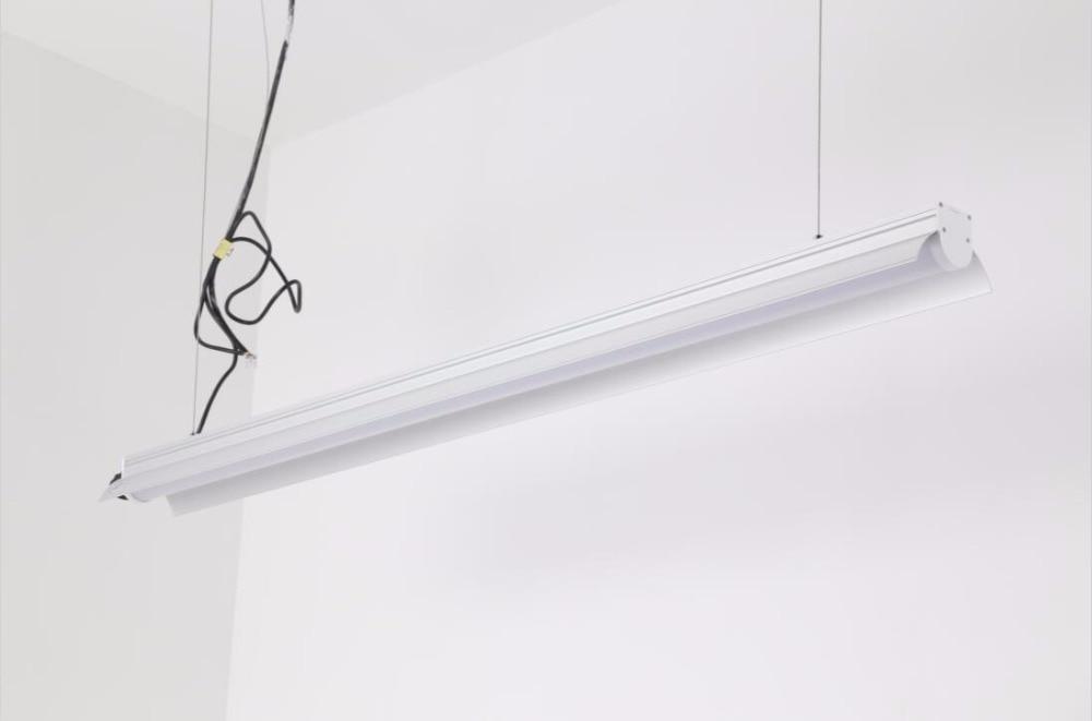 Liable Linéaire Led Lumières pour le Magasin de lumière, 40 W 4Ft 1.2 m Intégré Tubes Led Luminaire Avec ACCESSOIRES Livraison Gratuite