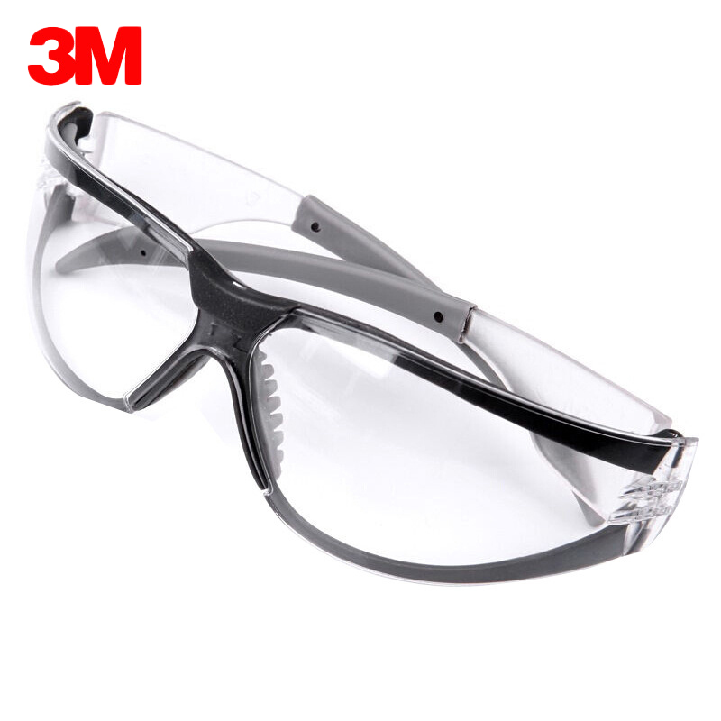 цена на 3M 11394 Safety Glasses Goggles Anti-Fog Anti-UV Windproof Anti Dust Resistant Transparent Glasses Protection Working eyewear