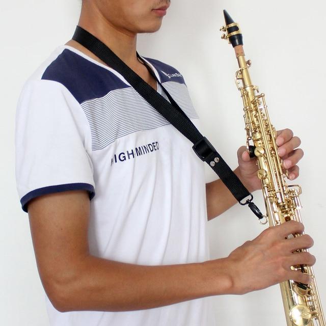 Hoge Kwaliteit LADE Bb Messing Sopraansaxofoon SAX Mooie Gelakt Gold Body en Sleutels
